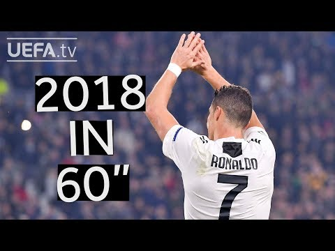 The best of CRISTIANO RONALDO's 2018 in 60 seconds!
