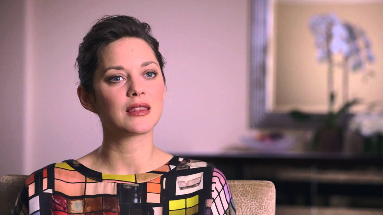 Marion Cotillard on TWO DAYS, ONE NIGHT
