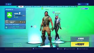 Fortnite didnt play 2 months lost all my skins