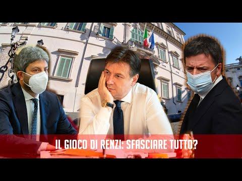 Il gioco di Renzi: sfasciare tutto?