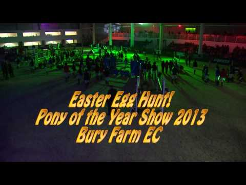 Showjumping - Pony Of the Year Show Easter Egg Hunt & Photocall