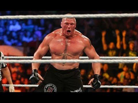 Download FULL MATCH   Goldberg vs  Brock Lesnar   Universal Championship Match WrestleMania 33
