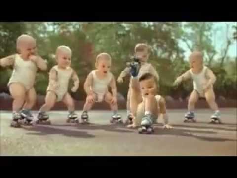Video Divertente Di Bambini Neonati Che Ballano