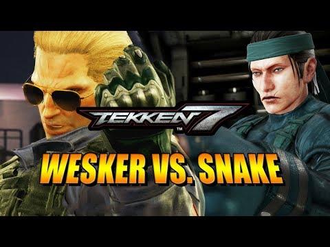 WESKER VS. SNAKE - Week Of! Geese: Tekken 7 DLC