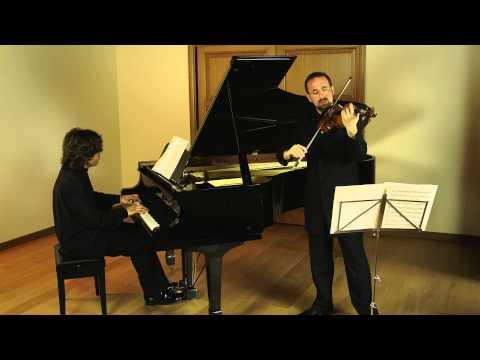 Brahms Sonata op 108 n.3 Giulio Plotino violin Davide Franceschetti piano
