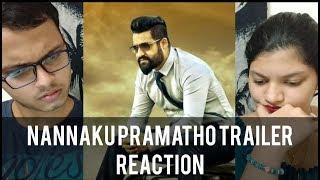 Nannaku Prematho Trailer Reaction   Jr. NTR, Rakul Preet Singh   RECit Reaction