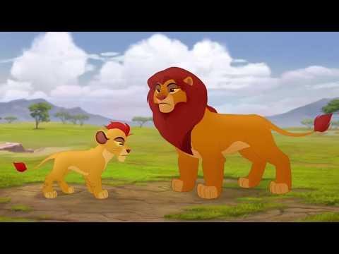 The Lion Guard Savannah Summit - Simba Explains Scene [HD]