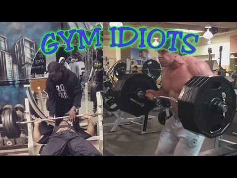 Gym Idiots - Brad Castleberry's Cheat Curls & Samson Fletcher's Cheat Bench Press