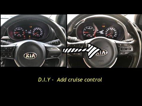 D.I.Y   install auto cruise   kia picanto 2018   2021