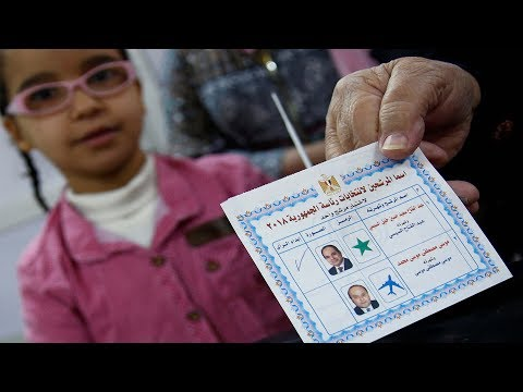 Egypt President Abdel Fattah el-Sisi runs for second term in office