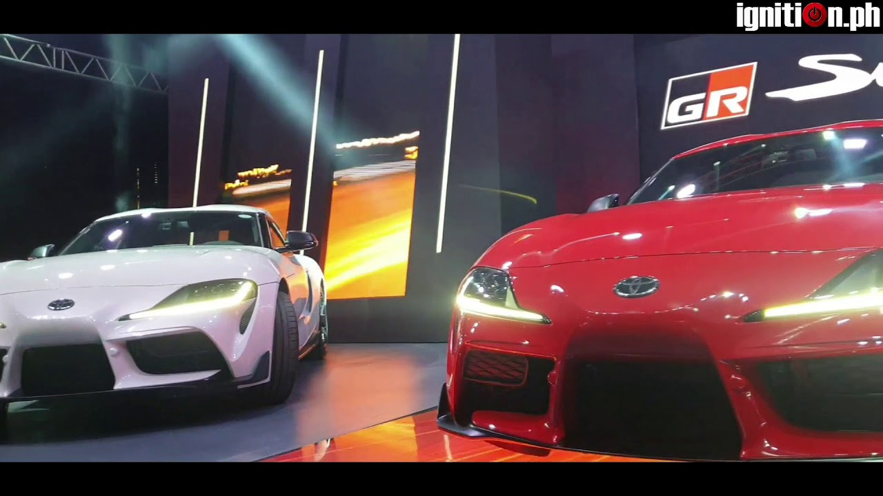 2020 Toyota GR Supra Launch