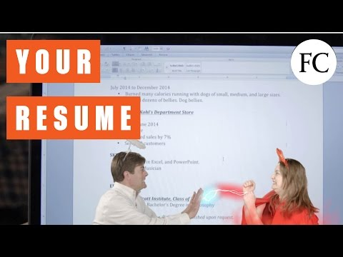 This Resume Can Help You Get That Job