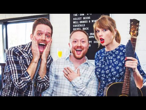 James Burlander - Watch As Taylor Swift Surprises Couple At Their Engagement Party!