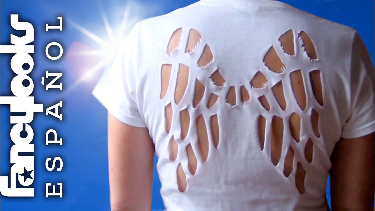 Camiseta recortada \