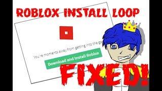 ROBLOX Infinite Download Loop and ETC Fixes [READ DESC.]