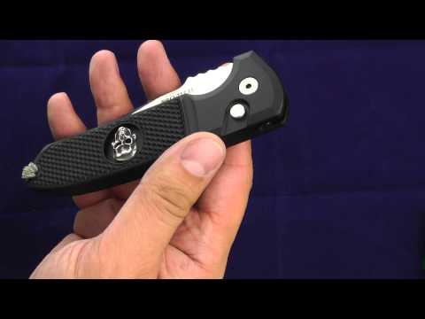 Нож Pro-Tech Knives Les George ROCKEYE Auto. Стильный полуавтомат.