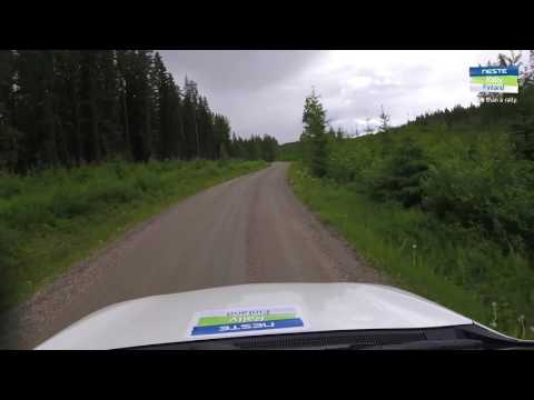 Rally Finland 2017 - Stage Video SS8&11 Äänekoski-Valtra