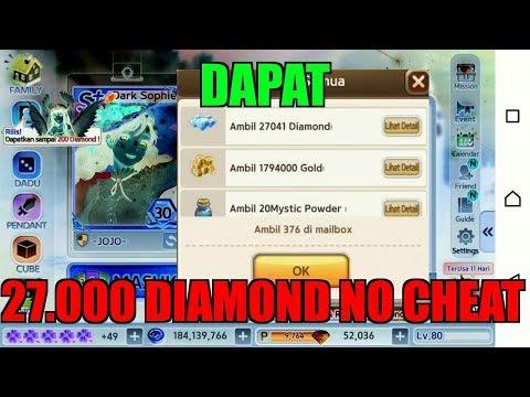 DAPAT 27.000 DIAMOND DALAM SEKEJAP PAKE CHEAT??
