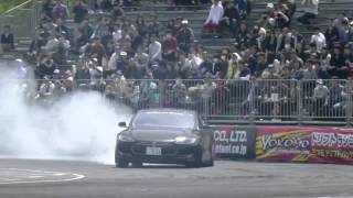 Tesla Model S Drifting (дрифт на электро автомобиле тесла)