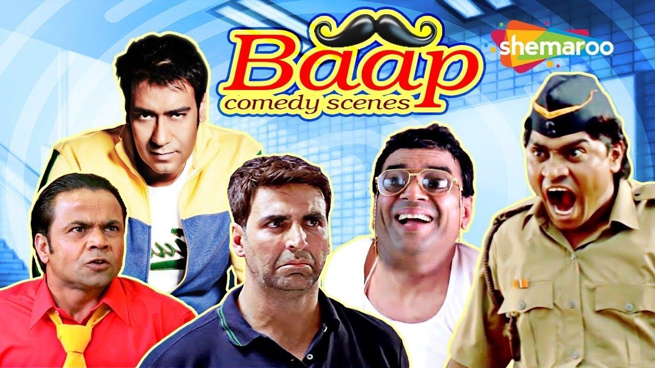Best Bollywood Comedy Scenes|Baap of Comedians | Mujhse Shaadi Karogi - Dhamaal - Dhol - Bhagam Bhag