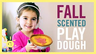 PLAY   Fall Scented Play Dough!