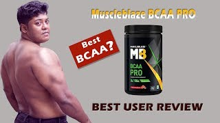 Muscleblaze Bcaa Pro || Best BCAA ? || Unbiased review by Fitguru ||