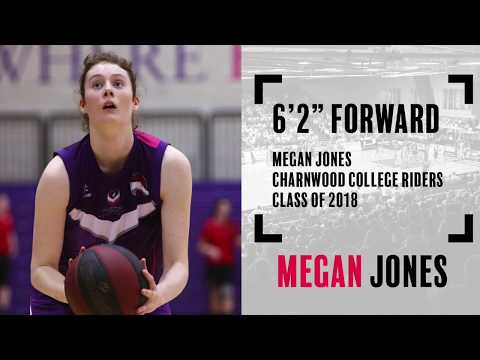 Megan Jones  (Class of 2018) - 6'2 Forward - 2016/17 Highlights