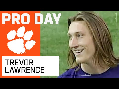 Trevor Lawrence FULL Pro Day Highlights: Every Throw