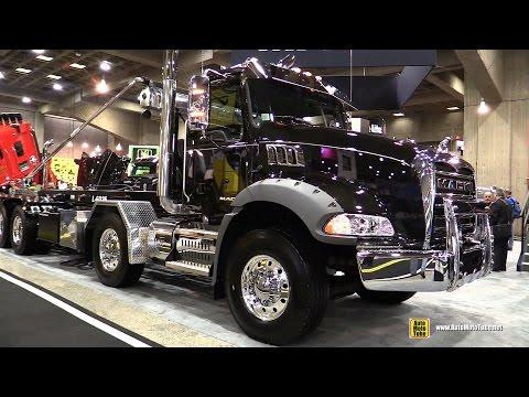2015 Mack Granite GU813 21320 Truck With Mack MP8 455M Engine - Ext, Int Walkaround - 2015 Expocam