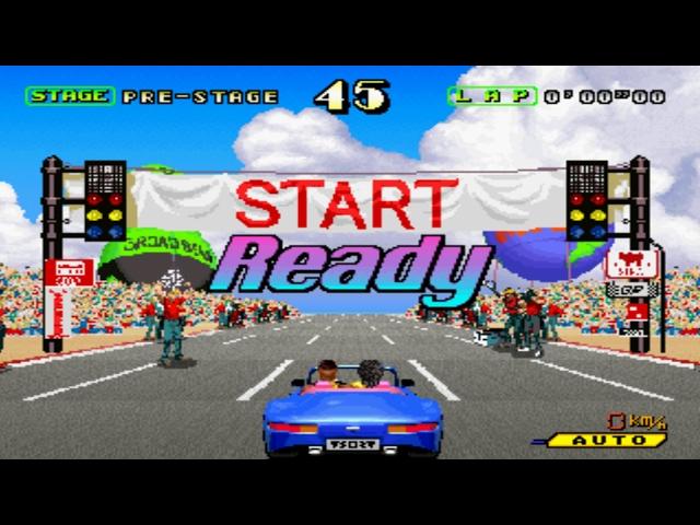 OutRunners Arcade - Racing Porsche 959 (Sega 1992)