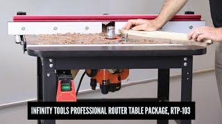 Professional Router Table Package with Triton Router