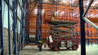 Timelapse - How To Build Pallet Racking By Spaceway