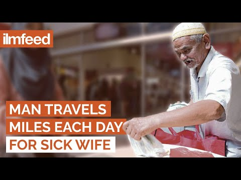 Man Travels Miles Each Day For Sick Wife