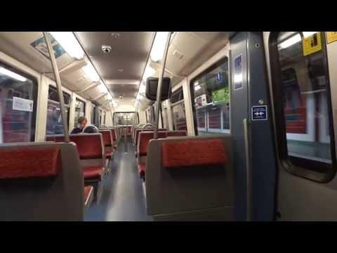 U-Bahn Hamburg: Mitfahrt im DT4.1 | Hersteller: LHB, 1989 | EPIC SOUND