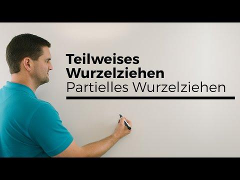 Wurzeln addieren, Wurzelterme vereinfachen, partielles Wurzelziehen | Klasse 9 from YouTube · Duration:  4 minutes 12 seconds