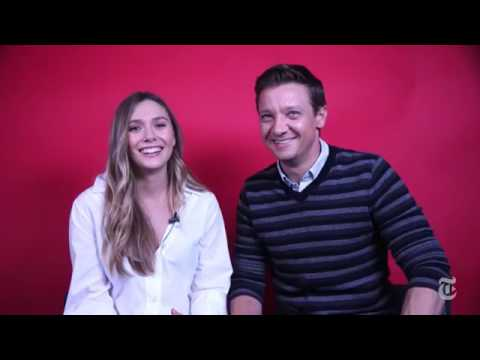 New York Times Live Q&A with Elizabeth Olsen and Jeremy Renner