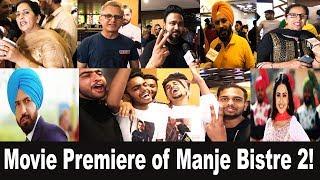 Manje Bistre 2 | Gippy Grewal | Simi Chahal | Movie Premiere | Channel Punjabi