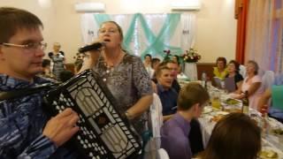 Застольные песни под баян на свадьбе (попурри)