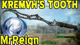 FALLOUT 4 - KREMVH S TOOTH Location - Sacrificial Blade - Rare Melee Weapon