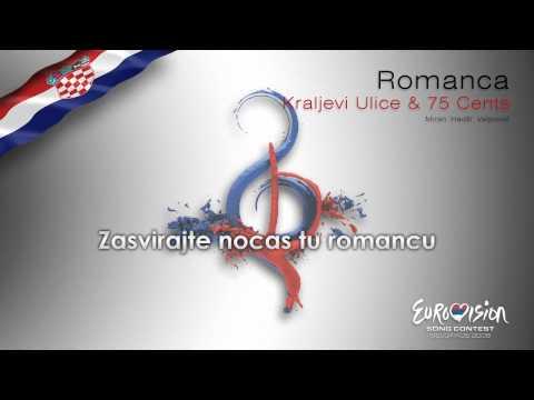 "Kraljevi Ulice & 75 Cents - ""Romanca"" (Croatia) - [Karaoke version]"