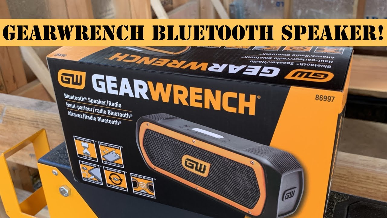 GEARWRENCH Bluetooth Speaker and Radio 86997