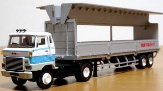 超高級車購入☆はたらくくるま トミカ リミテッドヴィンテージネオ 日野 HE366 ウイングルーフトレーラー(日本フルハーフ FPR239) LV-N167 TOMYTEC