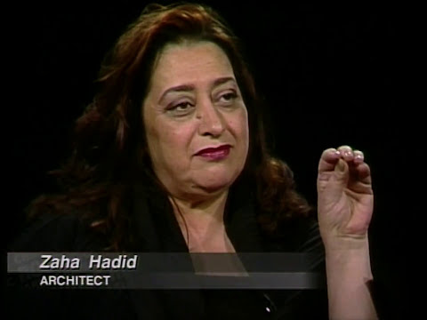 Architect Zaha Hadid interview (1999)