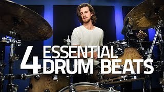 The 4 Most Important Drum Grooves - Drum Lesson (Drumeo)