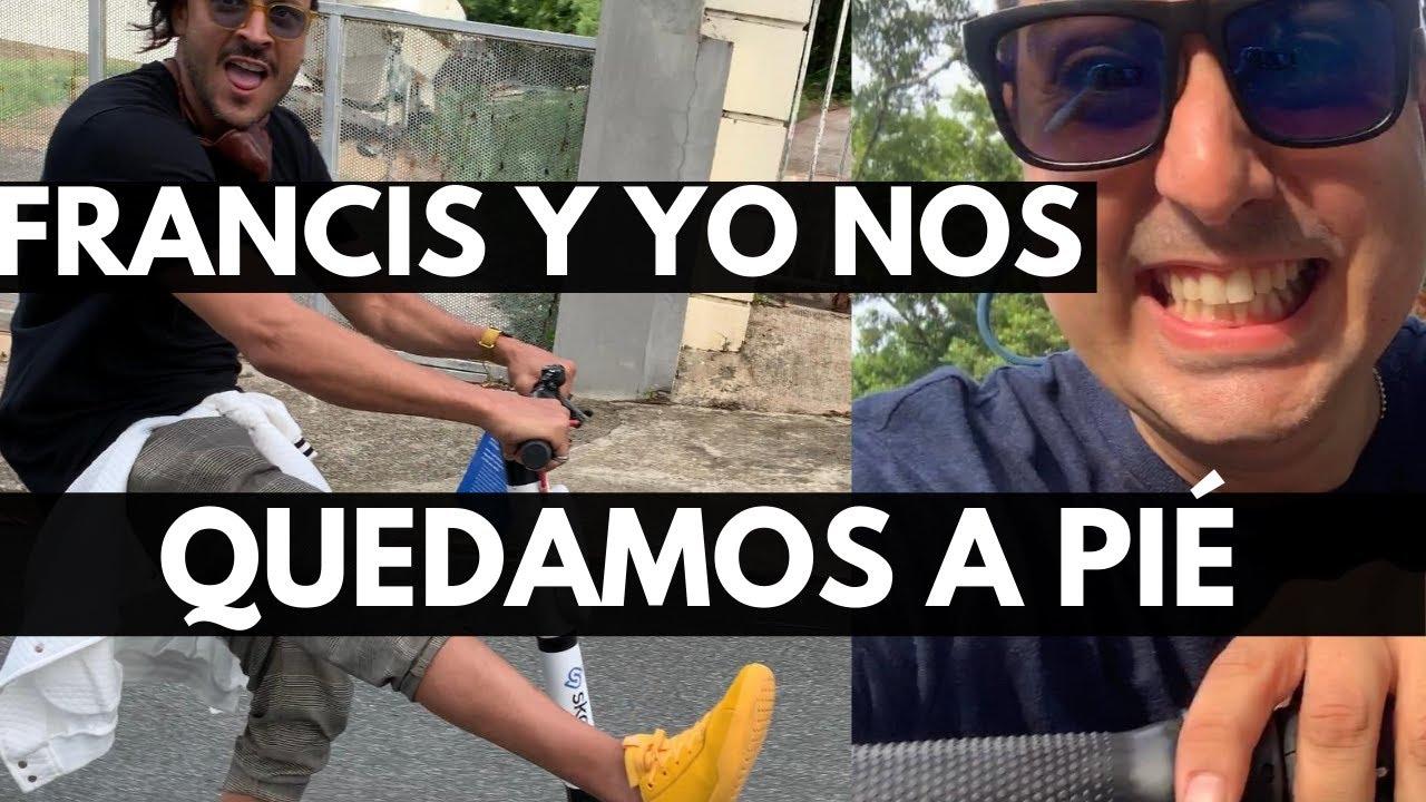 FRANCIS Y YO NOS QUEDAMOS A PIÉ | VLOG 149 | Alejandro Gil