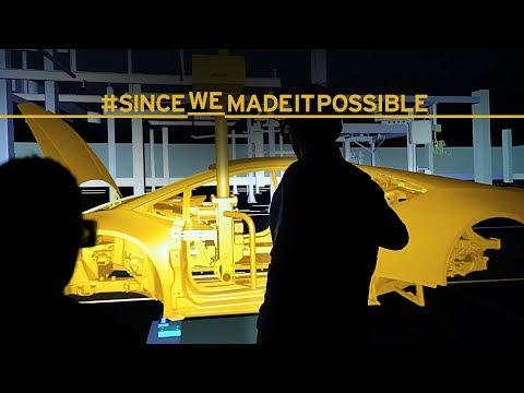 Manifattura Lamborghini: the cutting-edge 4.0 factory