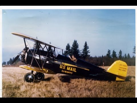 1929 Pitcairn PA-7 Mailwing - First Flight After Restoration