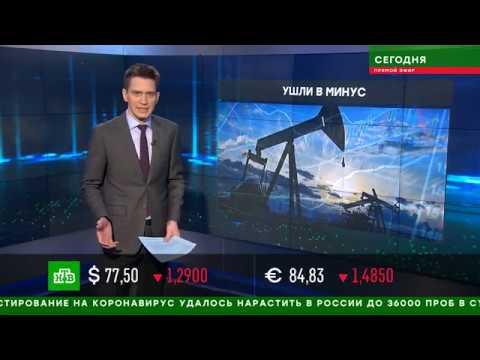 Отрицательная цена на нефть, бесплатный бензин Россиянам