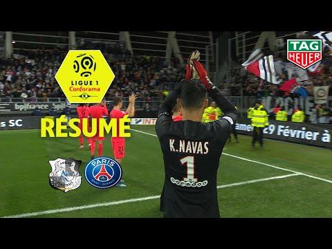 Amiens SC - Paris Saint-Germain ( 4-4 ) - Résumé - (ASC - PARIS) / 2019-20