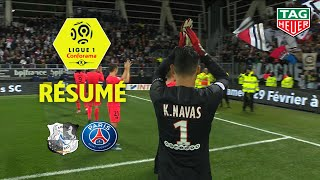Amiens Sc - Paris Saint-germain 4-4 - Résumé - Asc - Paris / 2019-20